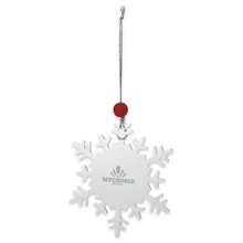 Promotional Snowflake Ornaments