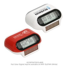 Solar Powered Promotional Pedometers