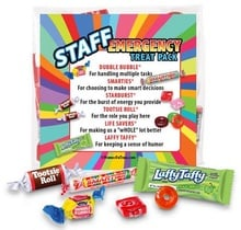 Staff Emergency Treat Pack Gifts