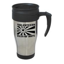 Stainless Steel Travel Mug Volunteer Gift with Slogan