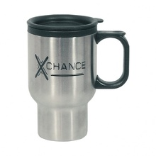 Stainless Steel Custom 16 oz. Travel Mugs