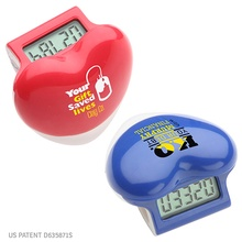 Customized Healthy Heart Step Pedometers