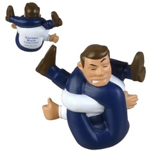 Stressed-Out Man Stress Ball with Logo