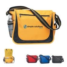 Striped Handle Promotional Messenger Bag