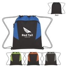 Tahoe Heathered Custom Drawstring Backpacks