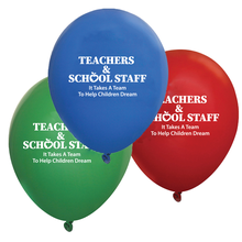 Teacher Appreciation Week Decorative Balloons