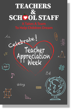 Teacher Appreciation Week Posters
