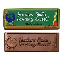 Teachers Make Learning Sweet Chocolate Bar