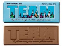 Team Chocolate Bar Motivational Gifts