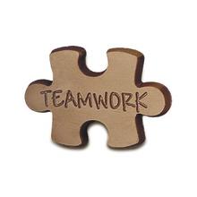 Teamwork Chocolate Puzzle Pieces