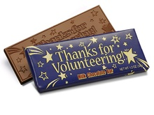 Thanks for Volunteering Chocolate Bar
