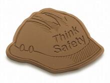 Think Safety Chocolate Hard Hats