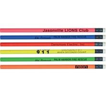 Custom Thrifty Neon Pencils