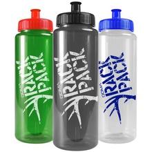 Transparent Promotional 32 oz. Sports Bottles