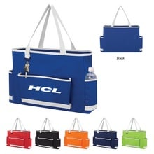 Tri-Pocket Promotional Tote Bags