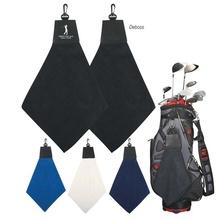 Custom Triangle Fold Golf Towels