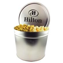Custom Two Gallon Tins - Popcorn Trio