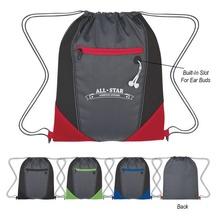 Two-Tone Custom Drawstring Sports Pack