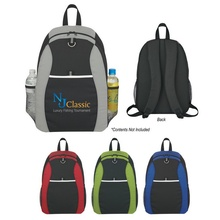 Two Tone Promotional Sport Backpacks