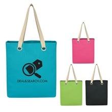 Vibrant Cotton Canvas Promotional Tote Bags
