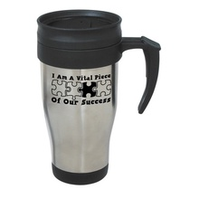 Vital Piece of Our Success Stainless Steel Travel Mug Staff Gifts
