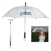 Volunteer Appreciation Clear Umbrella