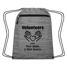 Volunteer Appreciation Drawstring Backpack