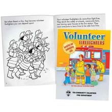 Volunteer Firefighters Activities Book