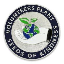 Volunteers Plant Kindness Lapel Pin