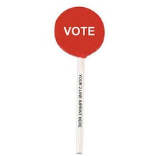 Vote Lollipops with Imprinted Sticks