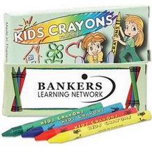 Washable Crayons - 4 Pack