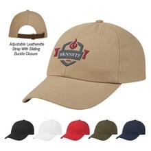Washed Cotton Chino Dad Logo Baseball Caps