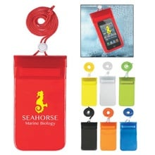 Waterproof Pouch with Neck Cord