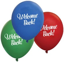 Welcome Back Balloons