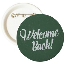 Welcome Back To School Buttons