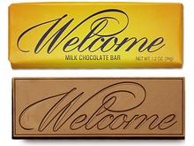 Welcome Chocolate Bars