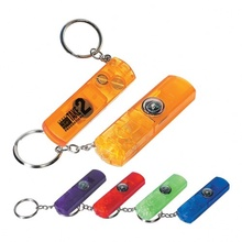 Custom Whistle, Light & Compass Key Chains