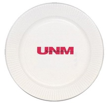 Personalized White Paper Plates