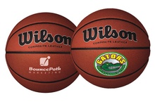 Wilson Custom Leather Basketballs