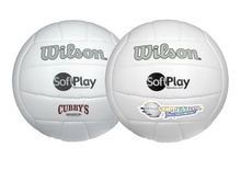 Custom Wilson Synthetic Leather Volleyballs
