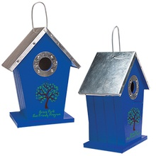 Personalized Wood Birdhouse