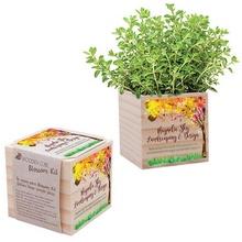 Wooden Cube Blossom Kit