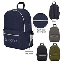 Wrinkled Nylon Promotional Backpacks
