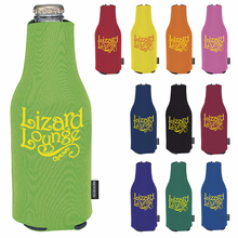 Custom Zip-Up Koozie Bottle Kooler