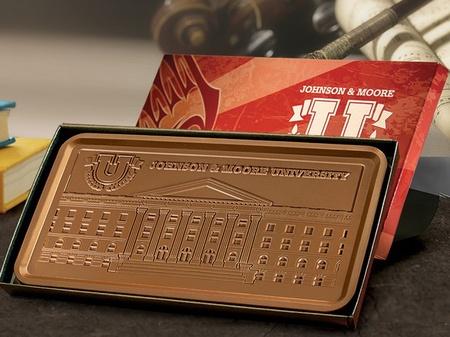 1 lb. Custom Chocolate Bar