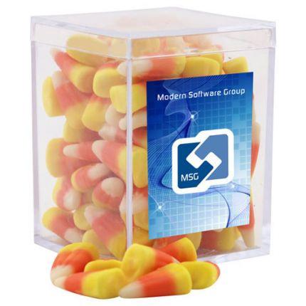 Candy Corn in Acrylic Box