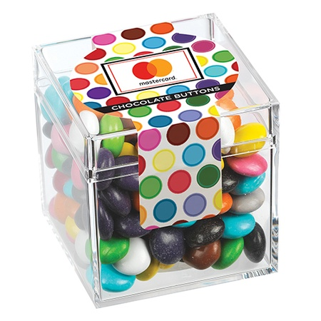 Candy Cubes - Chocolate Buttons