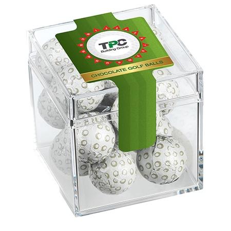 Candy Cubes - Chocolate Golf Balls