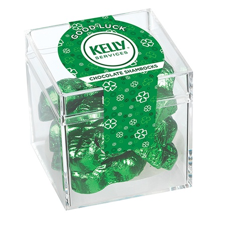 Candy Cubes - Chocolate Shamrocks