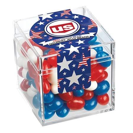 Candy Cubes - Patriotic Gourmet Jelly Beans